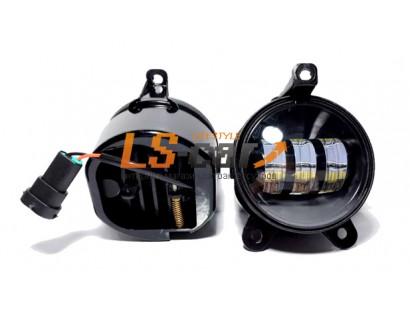 Фара противотуманная ZFT-361 со светодиодами на Лада-Приора