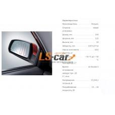 Электрообогрев зеркала левый LADA PRIORA 2170 12V – 50 °С до + 50 °С 193x125x10mm/НЭР-4643L