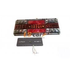 Блок фонарей MS-05 24V задних светодиодных (к-т 2 шт) на груз а\м 37*14*1,5см УНИВЕРСАЛЬНЫЕ