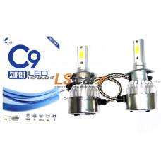 Лампа головного света со светодиодами CREE H1-C9 36W/3800LM 6000K 12V(со встр, вентилятором)