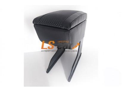 Подлокотник для автомобиля LADA GRANTA/KALINA II, черный, экокожа