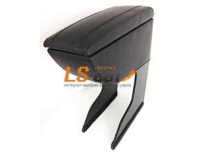 Подлокотник для автомобиля LADA KALINA черный, экокожа