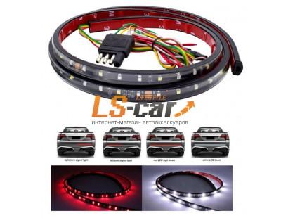 Светодиодная лента на дверь багажника NT-108 WYR 1,5м, 10mm 12V красный\желтый\белый