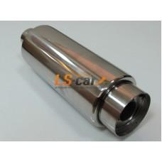 Глушитель прямоточный спортивный HJ-A2101