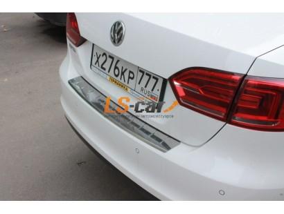 """Накладка на бампер VW Jetta 2014- """"Союз-96"""""""
