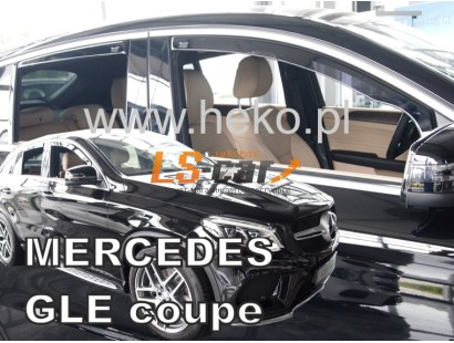 "Дефлекторы окон вст. MERCEDES GLE-class C292 (2016-) 5дв. ""HEKO"""