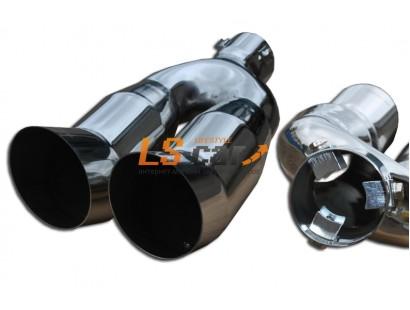 Насадка на глушитель нержавеющая сталь HJ-320 (в упаковке)