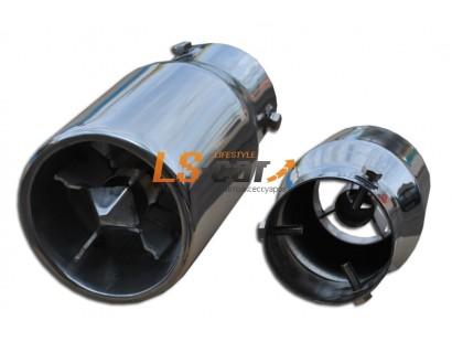 Насадка на глушитель нержавеющая сталь HJ-559 (в упаковке)
