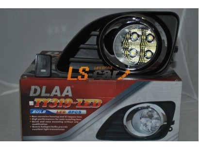Фары противотуманные Toyota Camry XV40 pecтайлинг 2009-2011 (Dlaa TY319-LED)