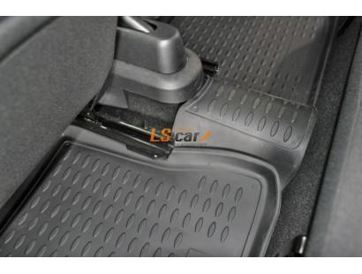 Коврики в салон Ford Fiesta VI хэтчбек 3 и 5 дверный 2008-...