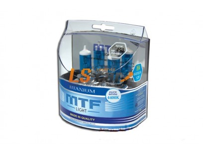 """Лампа галогеновая """"MTF""""  H9 12V 65W Titanium,комп. 2шт. HT5236"""