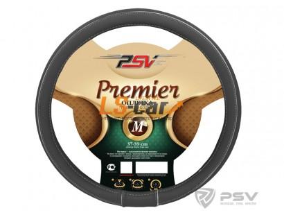 Оплетка на рулевое колесо PSV Premier Fiber (Серый) М/121946