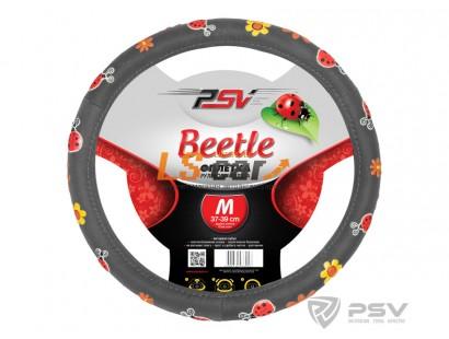 Оплетка на рулевое колесо PSV Beetle (Серый) М/