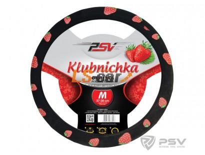 Оплетка на рулевое колесо PSV Klubnichka (Черный) М/