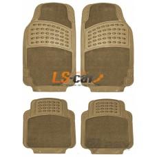 Коврик PSV Magnum TS2210 Р 4 части (бежевый) 71х45,5  44х46,5/113490