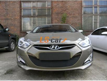 Защита радиатора  Hyundai i40 2012 black