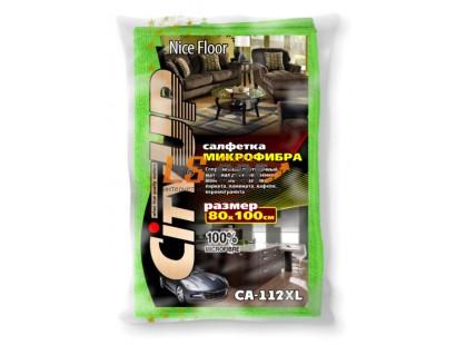 Салфетки  микрофибра CA112 XL  Nice Floor 80*100/50