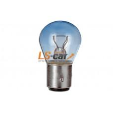 Лампа габаритная Hella Р21W 12V в блистере  8GB 002 073-121 (комплект .2шт)