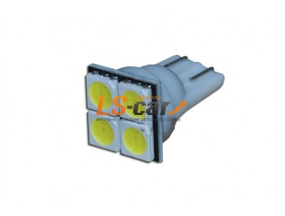 Светодиодная лампа для а/м T10-0450 W   12V
