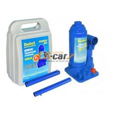 Домкрат гидравлический бутылочный Dollex  (2,0т) 158-308 мм в кейсе/DT-02B