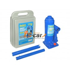 Домкрат гидравлический бутылочный Dollex  (4,0т) 200-380 мм в кейсе/DT-DT-04B
