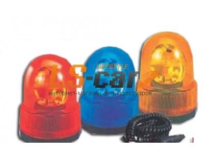 Маяк галогеновый TBL08 (24V, желтый, магнит)20/5304