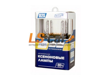 Лампа ксеноновая MTF Light D4R, ACTIVE NIGHT +30%, 3100lm, 5000K, 35W, 42V, комп.-2шт/AXBD4R
