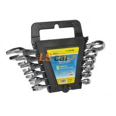 Набор ключей  комбинированных Dollex  (6 шт. 8-17 мм), хром/SCH-006