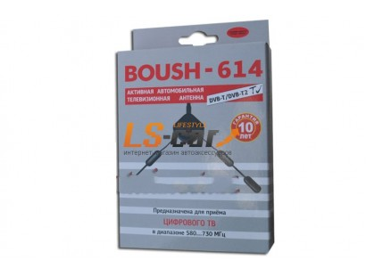 """Ант.""""BOUSH-614  DVB-T/T2"""" (ДМВ), внутрисалонная, HDR, разъём SMA"""