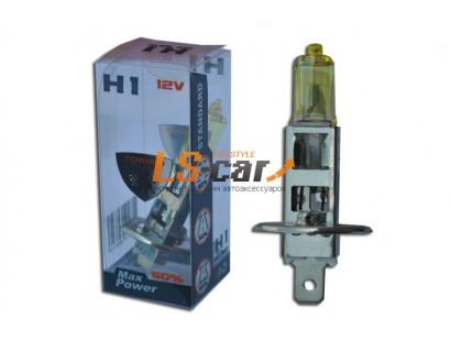 Лампы галогеновые  H1-YELLOW 12V55W   (стандарт)
