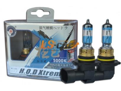 """Лампа галогеновая """"HOD XTREME""""A  5000K +50%  HB3/9005 12V60W  (комплект 2шт)"""
