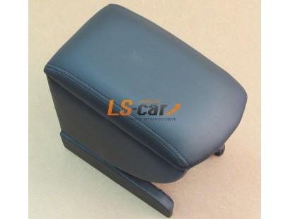 Подлокотник для автомобиля Skoda Yeti черный, кожзам