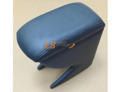 Подлокотник для автомобиля Nissan Tiida седан 2004-2014 черный, кожзам