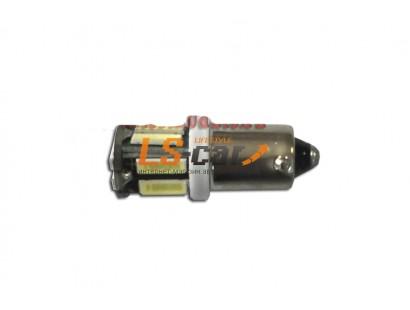 Светодиодная лампа для а/м BA9S-7014-10SMD  (10 светодиодов белый) 12V
