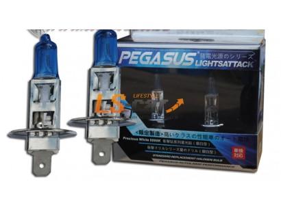 """Лампа галогеновая """"HOD XTREME""""C BLUE 5000K +50%  H1 12V55W  (комплект 2шт)"""