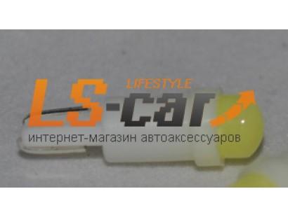 Светодиодная лампа для а/м T5-COB-1W  (24V белый)