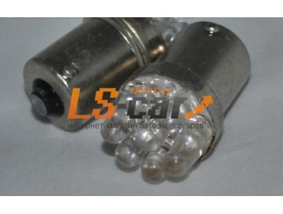 Светодиодная лампа 1156-9 PCS convex LED     24V