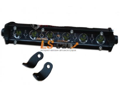 Фонарь светодиодный E-18W Spot Light 6-LED (дальний) (9-30V)
