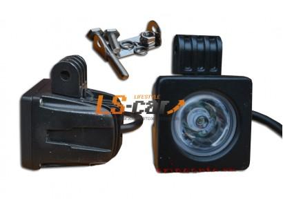 Фонарь светодиодный 25 type 10W Spot Light 1-LED (дальний) (9-30V) 5*5*6см
