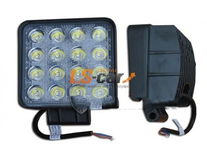 Фонарь светодиодный 29 type 48W Spot Light 16-LED (дальний) (9-30V) G16-48-F