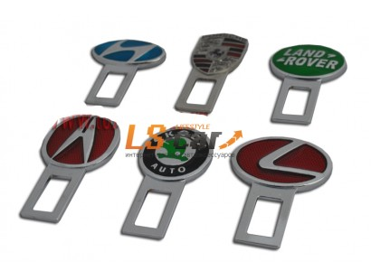 Заглушка ремня безопасности с логотипом эмаль (C-3) MITSUBISHI