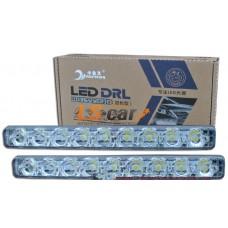 ДНЕВНЫЕ ХОДОВЫЕ ОГНИ DRL-9 LUX  9-LED 1,W/ 12V