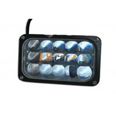 Фонарь светодиодный  4D-45W Light  15-LED high low ближний\дальний  (9-30V)