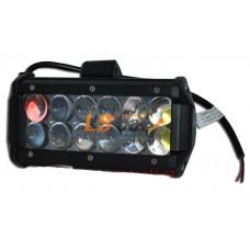Фонарь светодиодный  4D-36W Spot Light  12-LED (дальний) (9-30V)