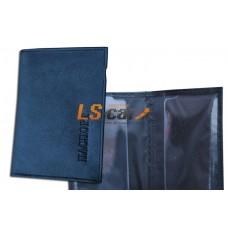 Бумажник водителя - обложкой паспорта с вкладышем,/БВЛ-4К/Л