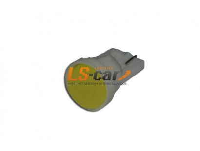 Светодиодная лампа для а/м T10-fluorescence lamp-1W  (белый) 12V