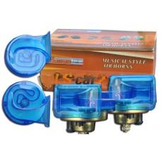 Сигнал звуковой электрический TZ-A001-90-3/ 12V RACINGTEC