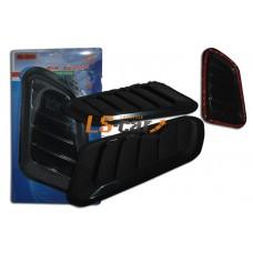 Воздухозаборник PS-5028 боковой декоративный ,универсальный (черный)