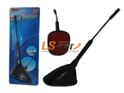 Антенна PS-06 активная/декоративная, прямой пластик\пруток 17см, угол наклона 45 гр., на  3М скотче