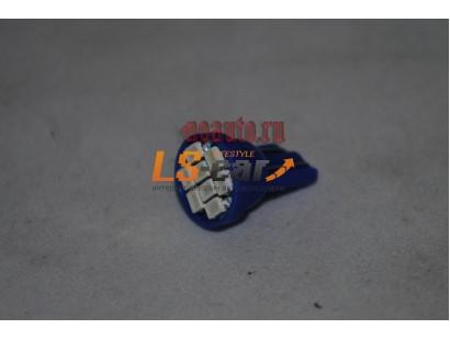 Светодиодная лампа для а/м T10-1206-8SMD 12V/синий
